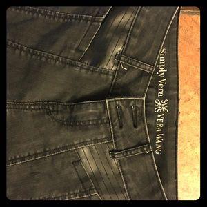 Simply Vera Wang black skinny jeans